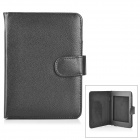 "Protective PU Leather Flip-Open Case for 6"" Amazon Kindle Paperwhite 1 / 2 - Black"