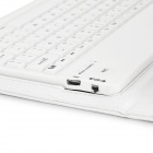 Bluetooth Clavier 77 touches pour samsung galaxy tab S 8.4 T700 - blanc