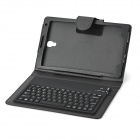 Bluetooth V3.0 77-Key Keyboard w/ Case for Samsung Galaxy Tab S 8.4 T700 - Black