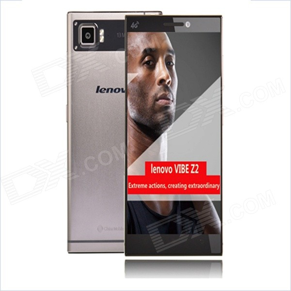 Lenovo VIBE Z2 Quad-Core Android 4.4 LTE 4G Phone w/Dual-SIM,5.5 Inch HD Screen,2GB RAM,32GB ROM