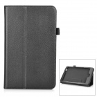 PU Leather Case w/ Holder + Auto Sleep for Acer Iconia One 8 (B1-810) - Black