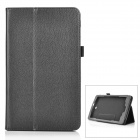 Protective PU Smart Case w/ Stand for Acer Tab8 W1-810 - Black