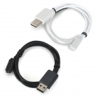 Magnetic USB Charging Cable Sony Z3 + - Black + White (2PCS)