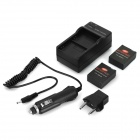US Plug Charger, Battery, EU Plug Adapter, Car Charger for GoPro 3+ 3