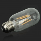 E27 4W Warm White 380lm 3000K LED Filament Bulb - Silver (AC 85~265V)
