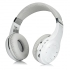 Bluedio H+ Bluetooth V4.1 Headband Headphone w/ FM / Mic / TF - White
