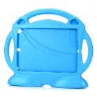 Cute Fan Style Silicone Back Shell Case for IPAD AIR 2 - Blue