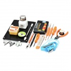 JAKEMY JM-1101 Screwdriver Soldering Repair Toolkit - Black + Orange