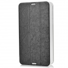 Protective PU + Plastic Full Body Case w/ Stand for Asus Fonepad 8 (FE380CG) - Black