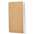 Protective PU Case w/ Stand for Lenovo A7-30 (A3300) - Golden