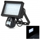 420TVL Auto Flood Light Motion Activated PIR Security Camera DVR Video Recorder - Black