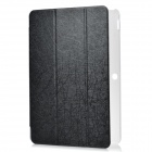 Protective PU + Plastic Full Body Case w/ Stand for Asus Transformer Pad TF103C - Black