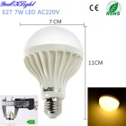 YouOKLight E27 7W 700lm 12-SMD 5730 Warm White Lamp (220V / 10PCS)