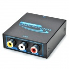 HDMI to RCA AV Video Converter w/ PAL / NTSC - Black