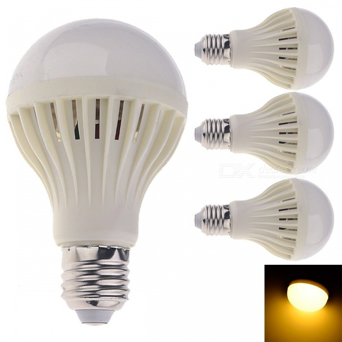 YouOKLight E27 15W 1300lm 24-SMD 5630 Warm White Bulb (220V, 4PCS)