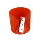 Creative Carrot Carved Slicer - Orange + Silver