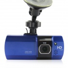 "D&Z D&ZG800 2.7"" TFT 1080P CMOS 140° Wide-Angle Car DVR Camcorder w/ 8GB C10 TF Card - Sapphire Blue"