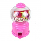 Manual Rotation Torsion Candy Machine / Piggy Bank - Pink (350mL)