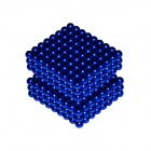 DIY 5mm NdFeB Magnetic Balls Educational Toy - Deep Blue (432 PCS)