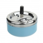 Fashionable Popular Innovative Large Capacity Ashtray - Blue