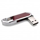 Blade Cutter Style USB 2.0 Flash Drive - Brown + Silver (32GB)
