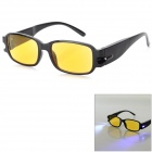 UV / Radiation Protection 3.0D Presbyopic Glasses w/ LED & Money Detector & Magnet Therapy for Elder