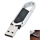 Blade Cutter Estilo USB 2.0 Flash Drive - Negro + Plata (16 GB)