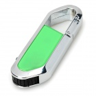 Blade Cutter Style USB 2.0 Flash Drive - Green + Silver (8GB)