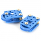 68# DIY Creative Assembling Pulley Toy Set - Blue