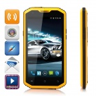 "NO.1 X-Men X2 5.5""HD Quad-Core Android 4.4.4 LTE 4G IP68 Waterproof Phone w/1GB RAM, 8GB ROM-Orange"