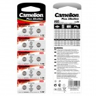 Camelion AG5-BP10 1.5V AG5 Alkaline Button Battery (10pcs)