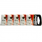 Camelion AG9-BP10 1.5V AG9 Alkaline Button Battery (10pcs)