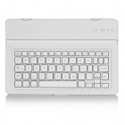 Aluminum Alloy Bluetooth V3.0 60-Key Keyboard for Google Nexus 9 - White