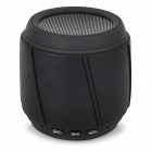 LK-023 Wireless Bluetooth V3.0 Mini Speaker w/ Mic / TF / 3.5mm / Mini USB - Black