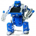 DIY 3-in-1 Educational Solar Assembling Toy - Blue + White
