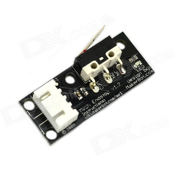 Jtron Mechanical Limit Switch / 3D Printer Module - Black