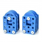 69# DIY Creative Assembling Pulley Toy Set - Blue
