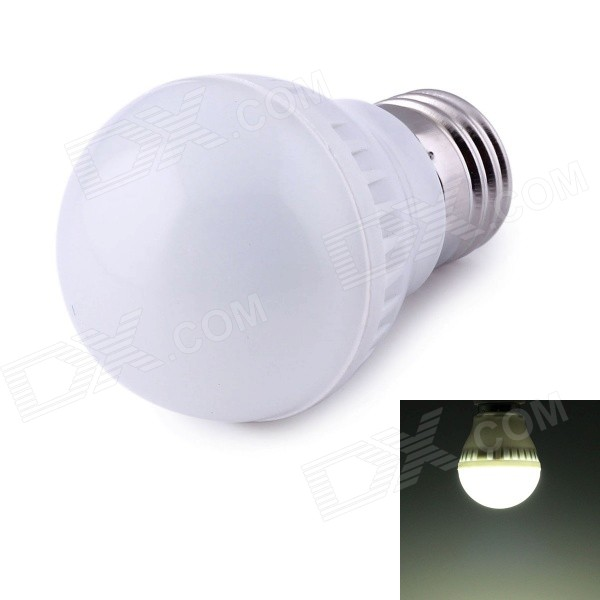 E27 3W  LED Lamp Globe Bulb Cool White Light 198lm 9-SMD 2835 (220V)