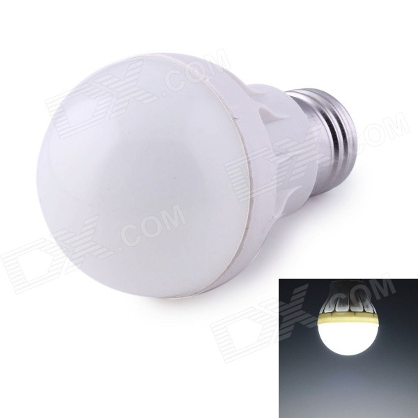 E27 5W LED Globe Bulb Cool White Light 450lm 5730 SMD LED (AC 220V)