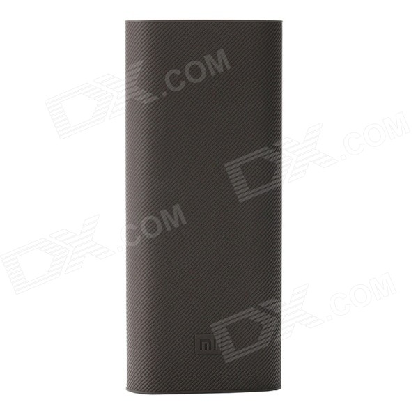 Xiaomi Protective Silicone Case for 16000mAh Power Bank - Dark Brown