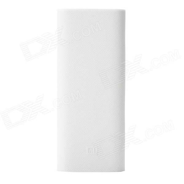 Xiaomi Protective Silicone Case for 16000mAh Power Bank - White