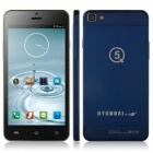 "HYUNDAI-CAV Q5C MTK6582 Quad-core Android 4.4 WCDMA Bar Phone w/ 5.0"" IPS, FM, Wi-Fi - Blue"