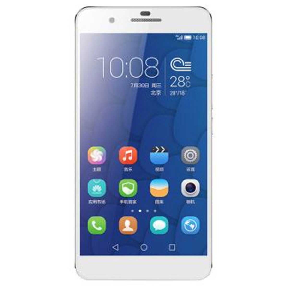 Huawei Honor 6 Plus Android 4.4 4G Phone w/ 3GB RAM, 16GB ROM - Silver