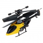 QS5010 2.4GHz 3-Channel Super Mini Infrared RC Helicopter w/ Gyro - Yellow + Black