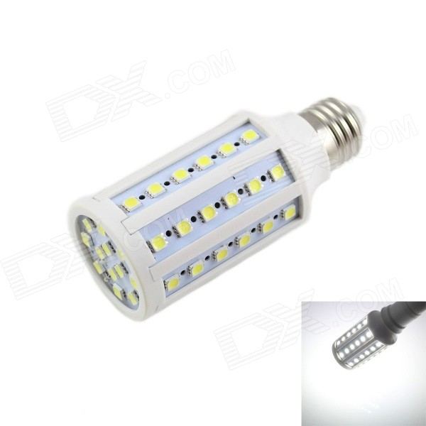 E27 12W LED Corn Lamp Cold White Light 960lm SMD 5050 - White (220V)