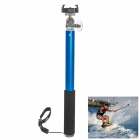 Fat Cat Monopod Selfie Pole w/ Quick Release Mount for GoPro Hero 4 / 3 + / SJ4000 + More - Sapphire
