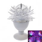 DY-56 5W LED Crystal Magic Ball Light  Stage Light w/ EU Plug - White