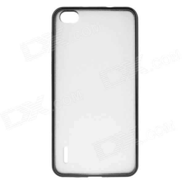 DF-030 Protective TPU + PC Back Case for Huawei Honor 6 - Black