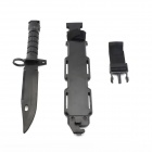 Large Soft Gum Dagger + Sheath Film Prop Kit - Black