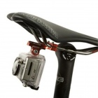 Fat Cat Cycling Bike 2-Rail Saddle Seat Mount for GoPro - Golden